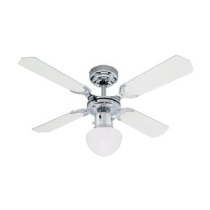 Westinghouse Portland Ambiance 90 Cm/ 36 Inches Ceiling Fans, Chrome White/