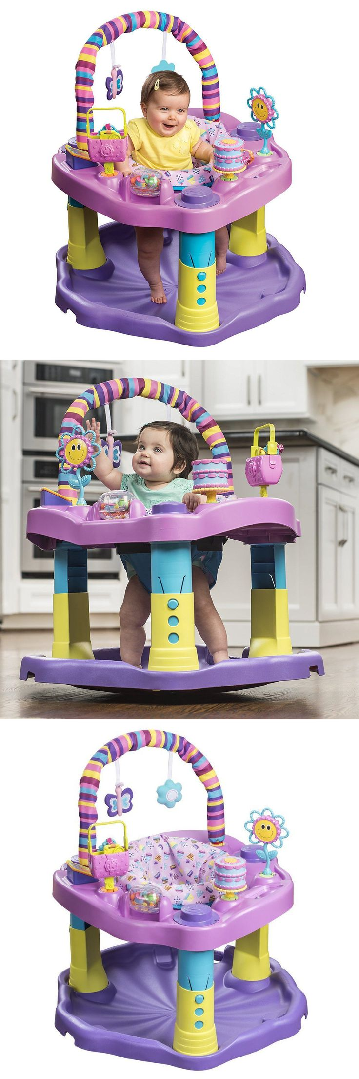 Baby Jumping Exercisers 117032: Baby Activity Center Exersaucer Jumper Infant -> BUY IT NOW ONLY: $58.39 on eBay!