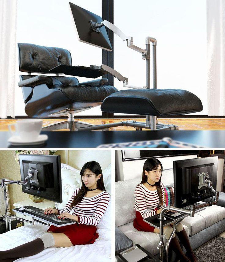 höhenverstellbarer schreibtisch ergonomisch selber bauen