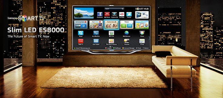 Televizorul Samsung 55ES8000 este creat special pentru cei care doresc sa se simta in sufrageria lor exact ca intr-o sala de cinema, doar ca intr-un spatiu mult mai intim.