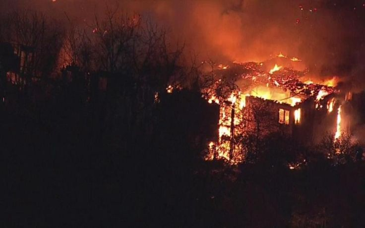 At least 20 taken to hospitals as massive fire rips through senior living community in Pennsylvania; dozens more evacuated into cold night air