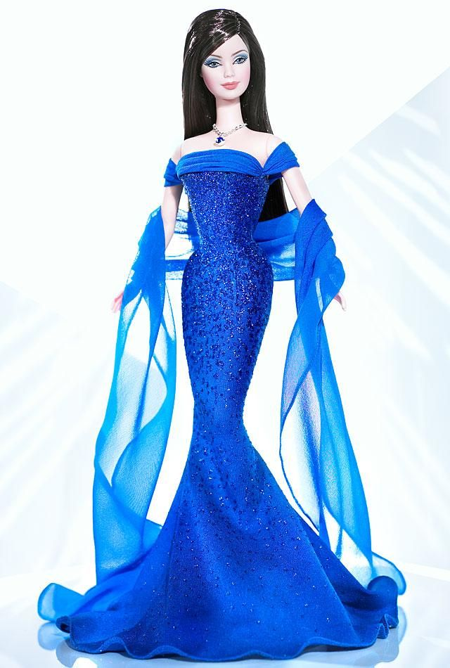 September Sapphire™ Barbie® Doll | Barbie Collector