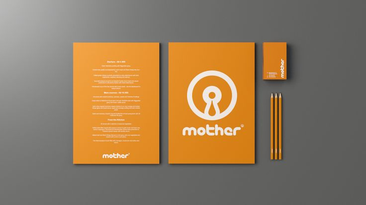 Logo & identity for Mother Bar & Kitchen