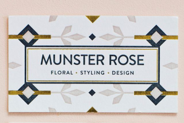 maemae paperie: munster rose stationery