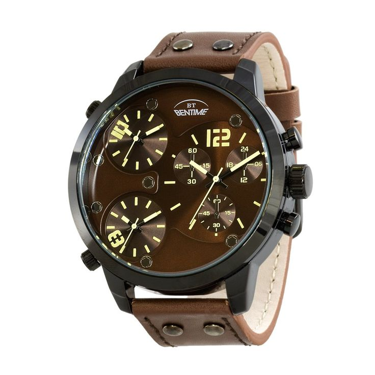 Bentime 007-PT11388A Pánské hodinky Bentime 007-PT11388A jsou velice elegantní s jemným, minimalistickým ciferníkem a pohodlným páskem. Minerální sklíčko, které chrání ciferník, je odolné proti vnějším vlivům.