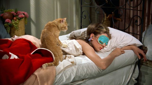 A sleep mask sends off a message to the brain that it is time to go to sleep and works wonders.