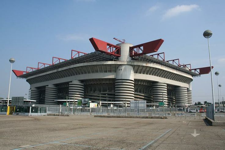 San siro stadion, milaan