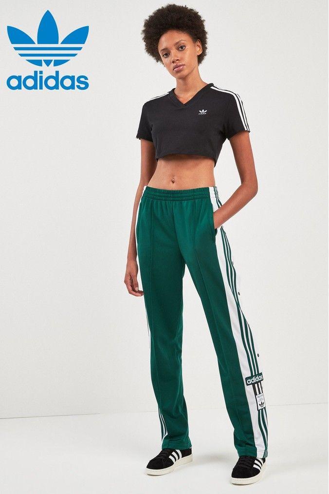 Womens adidas Originals Collegiate Green Adibreak Jogger