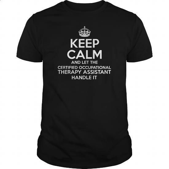 Awesome Tee For Certified Occupational Therapy Assistant - #custom hoodie #design tshirt. SIMILAR ITEMS => https://www.sunfrog.com/LifeStyle/Awesome-Tee-For-Certified-Occupational-Therapy-Assistant-109182858-Black-Guys.html?60505