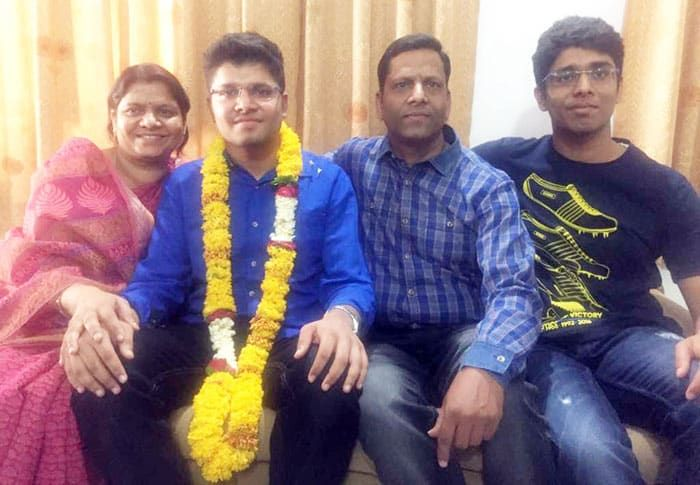 Kalpit Veerval, hailing from Udaipur in Rajasthan, has topped the Joint Entrance Examination (JEE)-Main with a perfect 100 per cent score