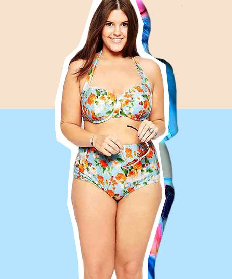 18 best the plus-size girl's guide to swimwear images on pinterest