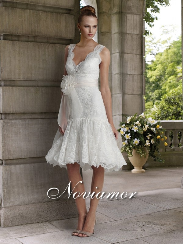 37 best Chic wedding gowns in short length images on Pinterest