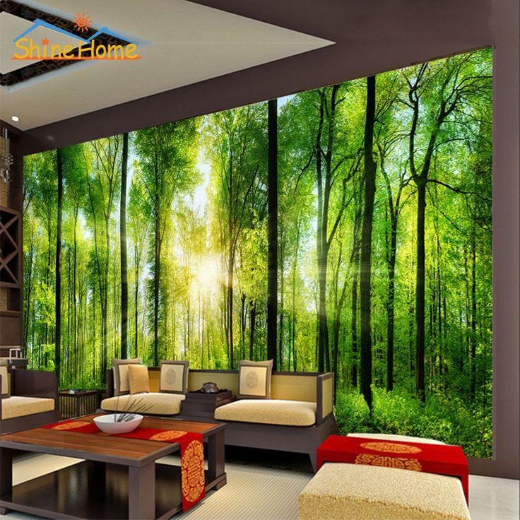 Best 25 3d wallpaper ideas on pinterest modern for Mural go green