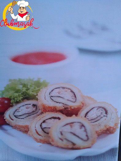 Resep Roti Goreng Isi Kepiting Nori, Resep Masakan Sehari-Hari Dirumah, Club Masak