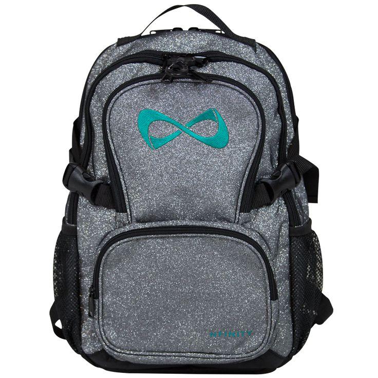 NFBPSPP440 Petite Sparkle Backpack Gray/Teal Logo *NO DISCOUNTS APPLY