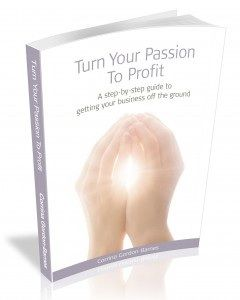 Corrina Gordon-Barnes' book will help you make 2014 the year you start to earn money doing what you love
