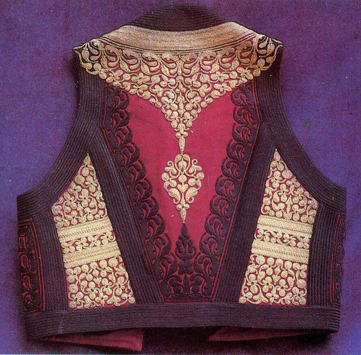 FolkCostume&Embroidery: Men's Costume of Crna Gora, Црна Гора. Montenegro, The Black Mountain