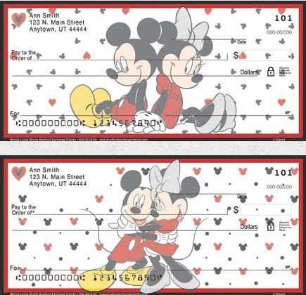 Minnie Mouse Checks - Order Disney Checks Online