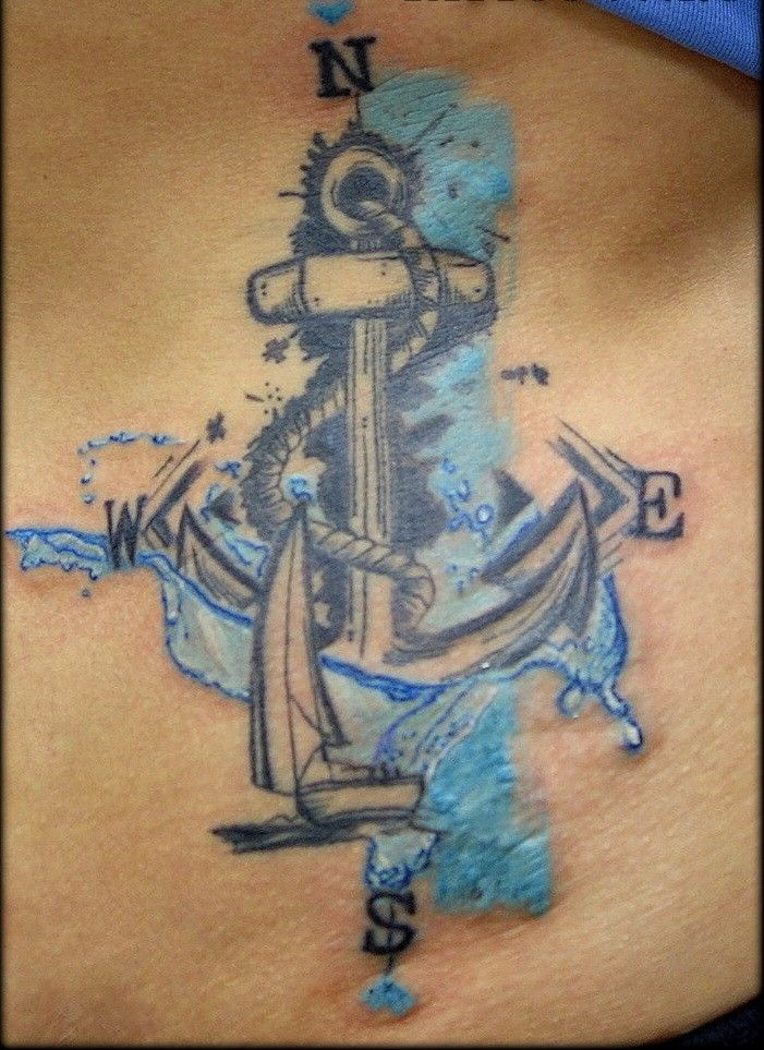 31 best blue anchor tattoo images on pinterest navy anchor tattoos anchor and anchor tattoos. Black Bedroom Furniture Sets. Home Design Ideas