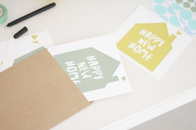 Happy new home - verhuiskaarten » blog.mliees.com