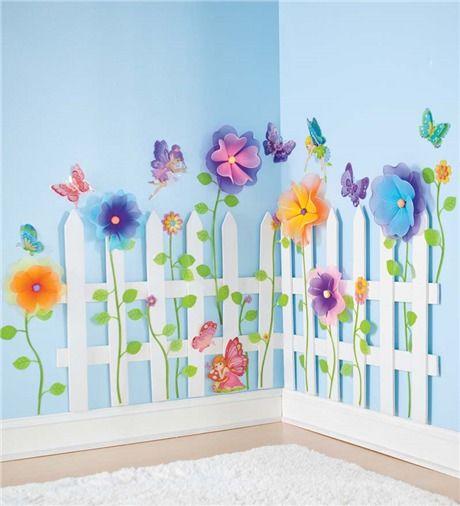 Picket Fence And Fairies So Cute Maddi S Future Room