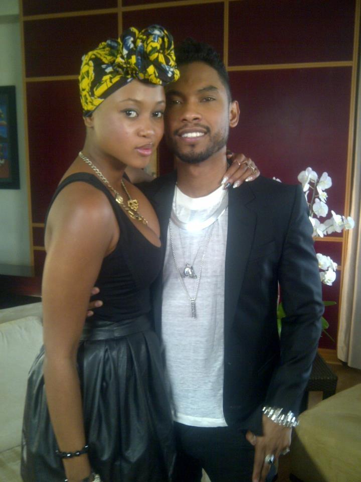 MTV Base VJ Nomuzi and Miguel!