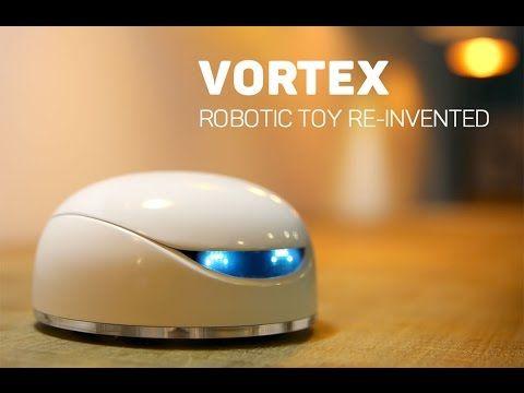 Vortex World's First Intelligent and Responsive Robot Toy | Next Great Designs