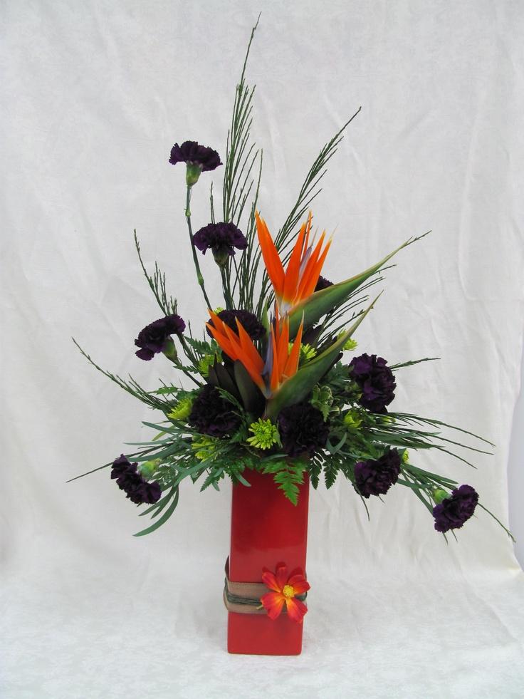 139 best Arrangements with Strelitzia images on Pinterest | Floral ...