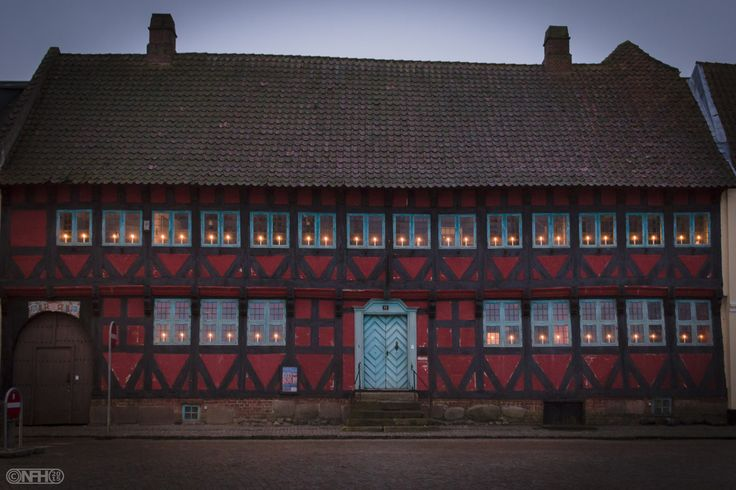 Lights On - Farvergården is originally an old merchant's house, built in 1630. The current building has been part of a larger farm on site.