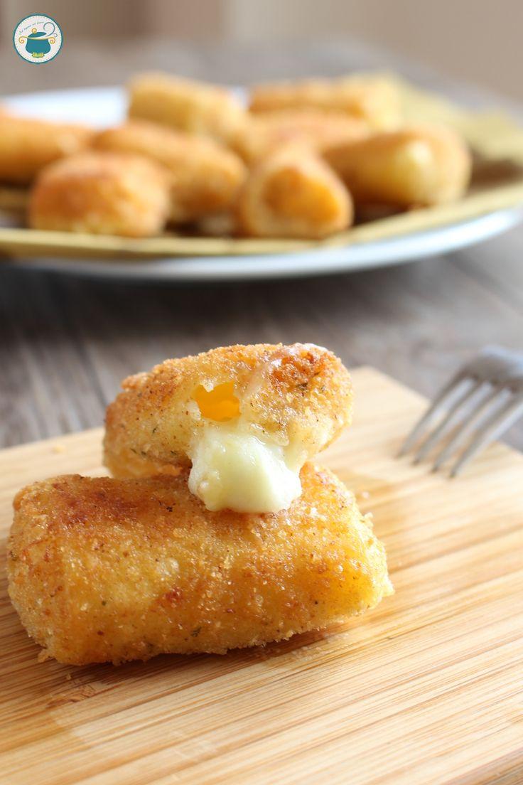 Pasta in carrozza con mozzarella di bufala e patate, una delizia adatta ai più esigenti! #cosedafoodblogger #recipe #pasta