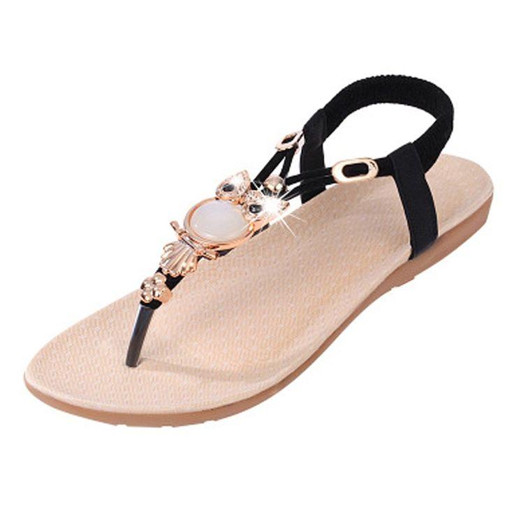 VVFamilyWomen Flat Sandals - plataforma chica mujer hombre , color azul, talla 36 EU