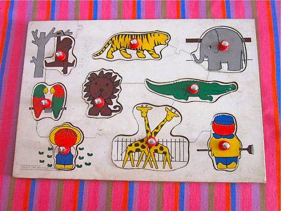 Vintage1982 Dick Bruna Puzzle by Pommedejour on Etsy, $32.00