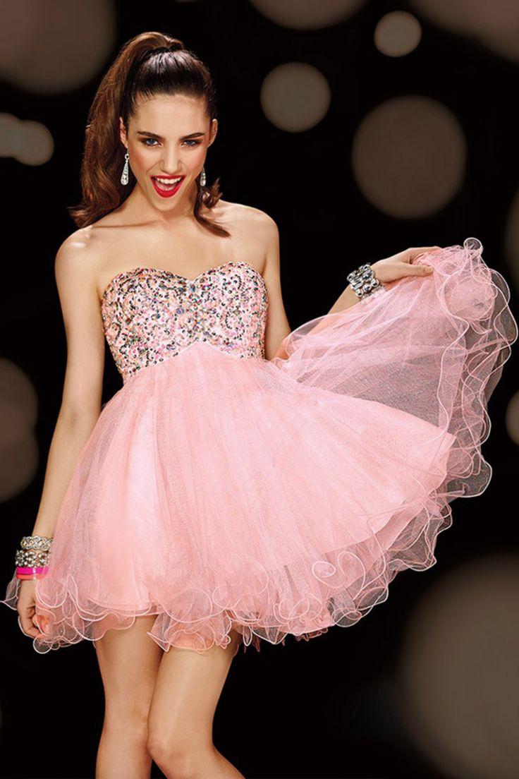 127 besten Homecoming Dresses Bilder auf Pinterest | Brautkleider ...