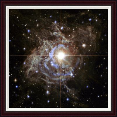 "Global Gallery Cepheid Variable Star by NASA Framed Photographic Print Size: 34"" H x 34"" W"