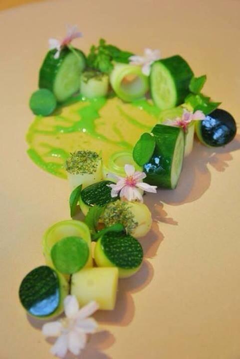 my take on a cucumber salad