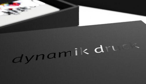 partielle glänzende UV-Lackierung - partial gloss UV varnish www.dynamik-druck.de