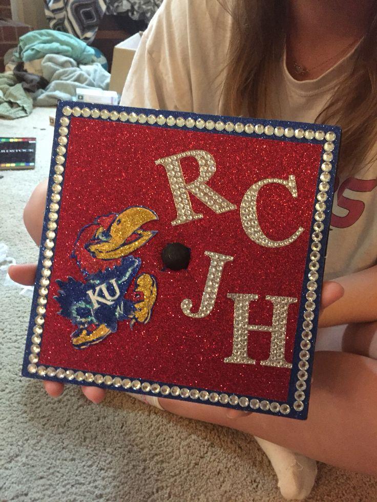 University of Kansas Graduation cap #ku #kansas #jayhawks