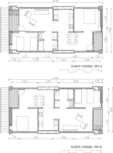 44 Units Social Housing In Pardinyes Lleida Coll Leclerc Arquitectos Villa Plansocial Housingbuilding