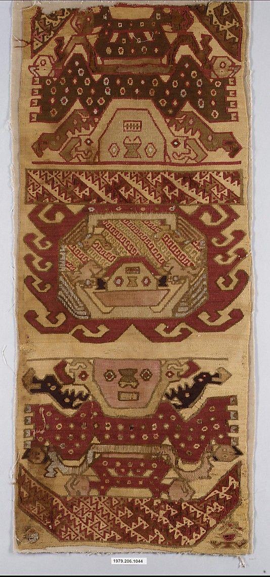 Tapestry Fragment. Chimú