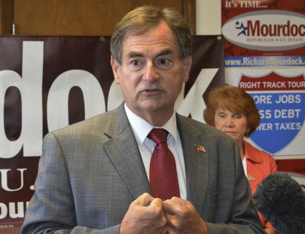 Pregnancy from rape 'something that God intended to happen,' says Republican candidate Richard Mourdock