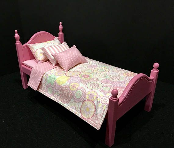 American Girl Doll:  Furniture Bed and bedding.