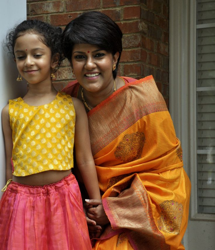 Benares Tussar Silk Saree!