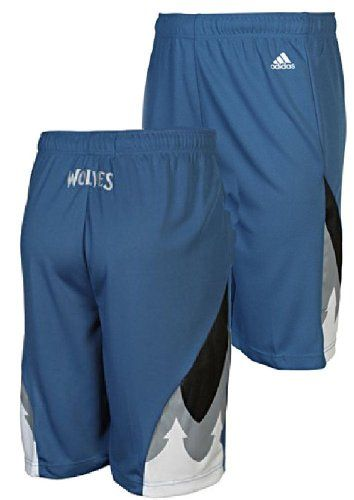 NBA adidas Minnesota Timberwolves Youth Replica Shorts - Slate Blue  http://allstarsportsfan.com/product/nba-adidas-minnesota-timberwolves-youth-replica-shorts-slate-blue/  Made from 100% Polyester Made by Adidas 8 Inch Inseam