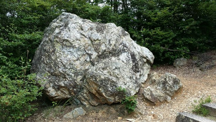 """This massive rock if called """"Iwagami""""  which means - a god of a rock!  At No. 53"""