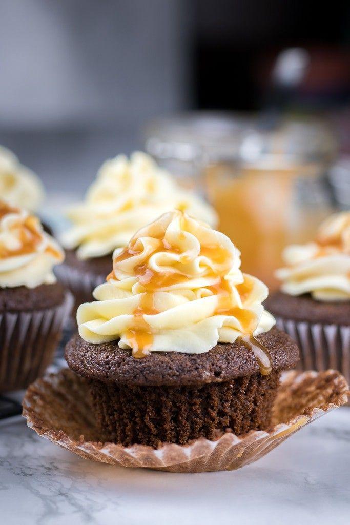 Chocolate Cupcakes With Caramel Filling Recipe Chocolate