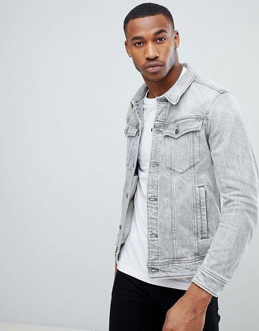 fac585bf8cde1 G-Star 3301 Deconstructed 3D Slim Denim Jacket | Men's fashion ...