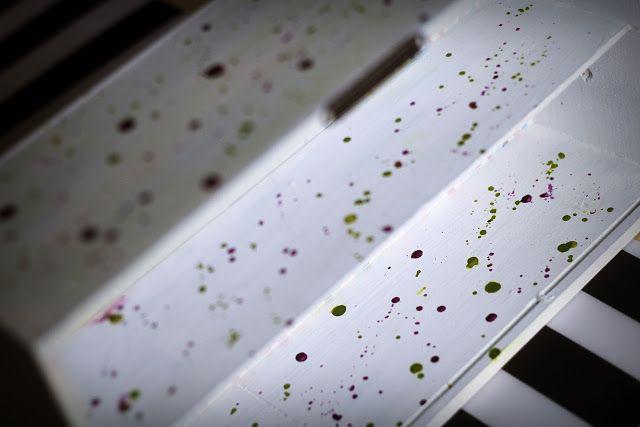 decoratorium: Inspiracja Ani - Półeczka ze skrzynki na wino