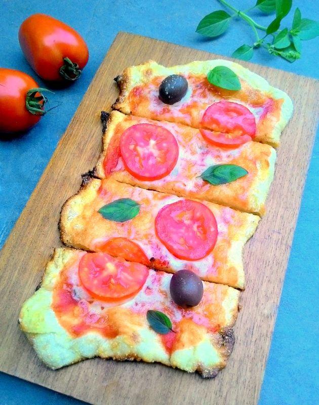 Massa de pizza sem sova (fermentação longa)
