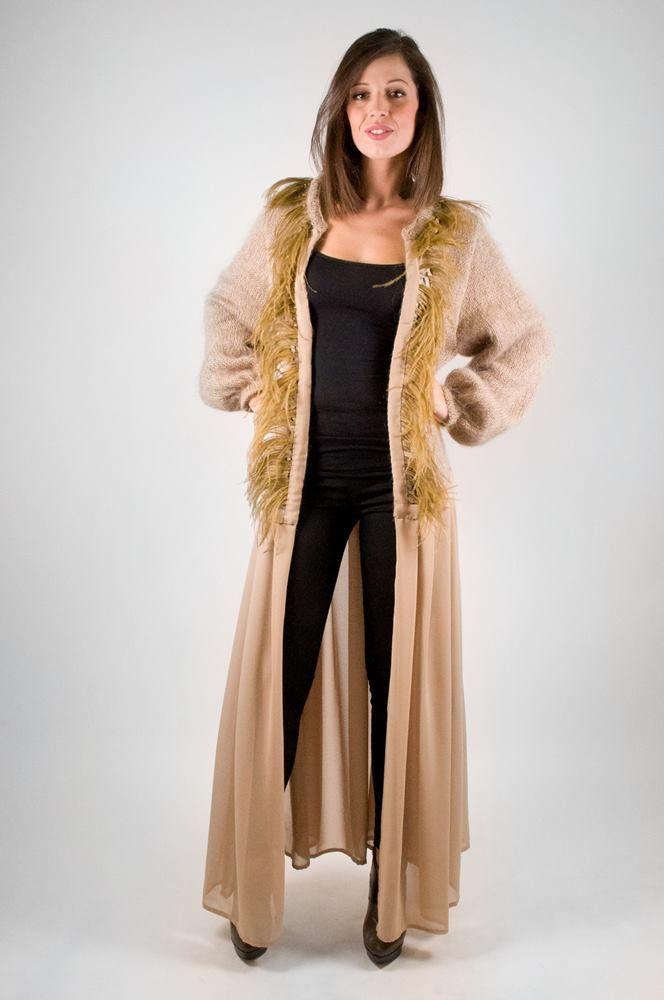 Wool/Feather Knitwear