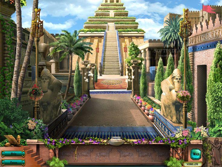 こんな庭園行ってみたい バビロンの空中庭園